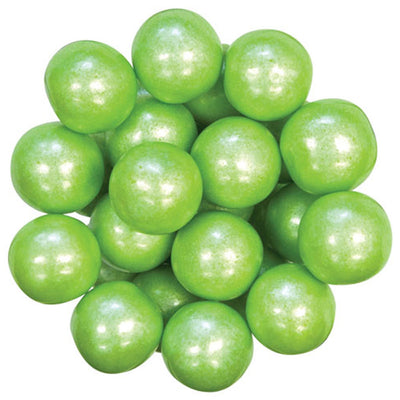 GUMBALL - SHIMMER - LIME GREEN - 1IN