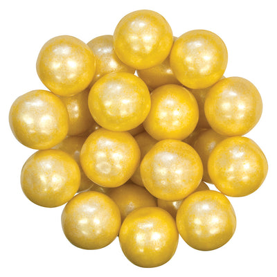 GUMBALL - SHIMMER - YELLOW - 1IN