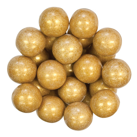 GUMBALL - SHIMMER - GOLD - 1IN