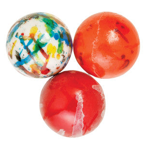 Clever Candy Assorted Wrapped Jawbreakers With Candy Center 2.25 Inches 28.30Lb Case