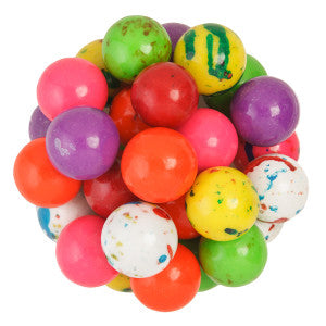 Clever Candy Assorted Jawbreakers With Candy Center 1 Inch 30.00Lb Case