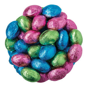 Chocolate Foil Milk Chocolate Eggs 11.00Lb Case