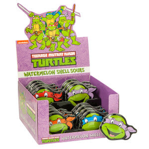 Teenage Mutant Ninja Turtles Watermelon Shell Sours Tin 16Ct Box