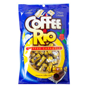 Coffee Rio Original Caramels 5.5 Oz Peg Bag *Sf Dc Only* 12Ct Case