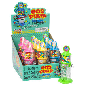 Gas Pump Candy Dispenser *Sf Dc Only* 12Ct Box