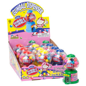 Dubble Bubble Gumball Mini Machine *Sf Dc Only* 12Ct Box