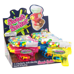 Sweet Soaker Candy Filled 0.74 Oz 12Ct Box