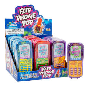 Kidsmania Flip Phone Pop *Sf Dc Only* 12Ct Box