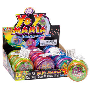 Yo Yo Mania Toy And Gum Nuggets *Sf Dc Only* 12Ct Box