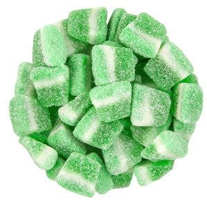 Sour Jacks Green Apple Wedge 5.00Lb Bag