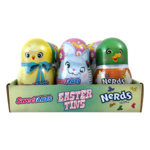 Sweetarts And Nerds Assorted Easter Tins 0.38 Oz 24Ct Case