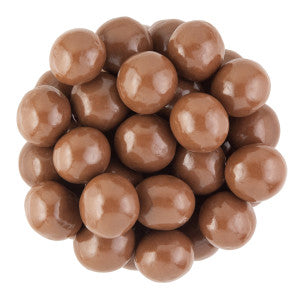 Nassau Candy Belgian Jumbo Milk Chocolate Malt Balls 8.00Lb Case