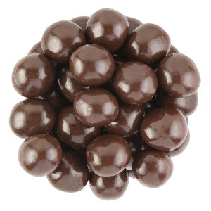 Nassau Candy Belgian Jumbo Dark Chocolate Malt Balls 8.00Lb Case
