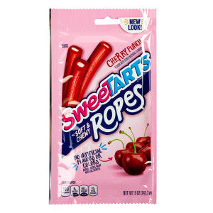 Sweetarts Chewy Ropes Cherry Punch 5 Oz Peg Bag 12Ct Case