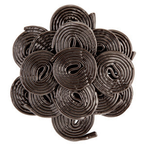 Licorice Broadway Wheels *Not For Sale In Ca* 4.40Lb Bag