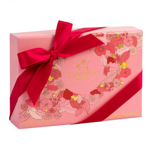 Godiva 6 Pc Valentine 2.3 Oz Box 24Ct Case