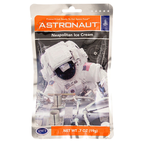 ASTRONAUT - ICE CREAM - NEAPOLITAIN - .7OZ