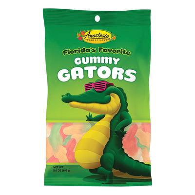 ANASTASIA - PEG BAG - GUMMY GATORS - 5.5OZ