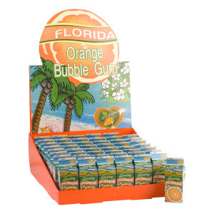 Citra Florida Orange Bubble Gum Carton *Fl Dc Only* 48Ct Box