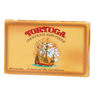 Tortuga Caribbean Chocolate Rum Fudge 10 Oz Box *Fl Dc Only* 12Ct Case