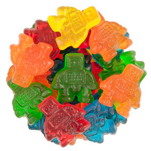 Clever Candy Gummy Robots 6.60Lb Bag