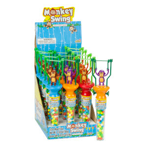 Monkey Swing Filled With Candy 0.46 Oz 12Ct Box