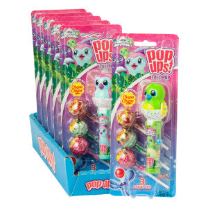 Pop Ups Hatchimals Lollipop 1.26 Oz Blister Pack 6Ct Box