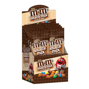 M&M'S Snack Mix 1.75 Oz Bag 10Ct Box
