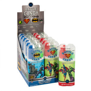 Dc Comics Battle Candy Two Treat Spray And Powder 0.56 Oz 12Ct Box
