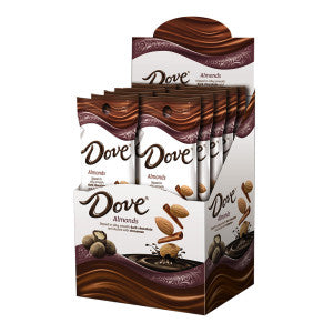 Dove Dark Chocolate Cinnamon Dusted Almonds 1.6 Oz 10Ct Box