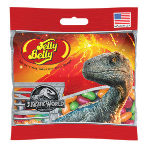 Jelly Belly Jurassic World 2 Jelly Beans 2.8 Oz Bag 12Ct Case