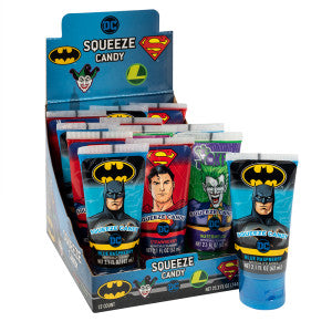 Dc Comics Squeeze Candy 2.1 Oz 12Ct Box