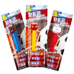 Pez Sports Assortment Blister Pack 0.58 Oz 12Ct Box
