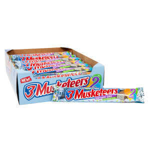 3 Musketeers Birthday Cake Share Size 2.14 Oz 24Ct Box
