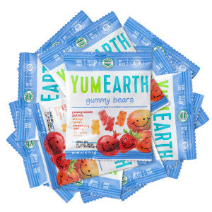Yumearth Gummy Bears 0.7 Oz 50Ct Box