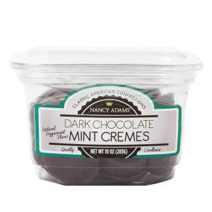 Nancy Adams Peppermint Cremes 10 Oz Tub 12Ct Case