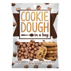 Amusemints Cookie Dough Bites 5 Oz Peg Bag 12Ct Case