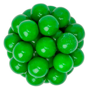 Lemon/Lime Flavored Green Gumball 850 Ct 14.17Lb Case