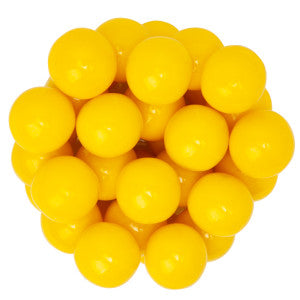 Yellow Gumballs Banana Flavored 850 Ct 14.17Lb Case