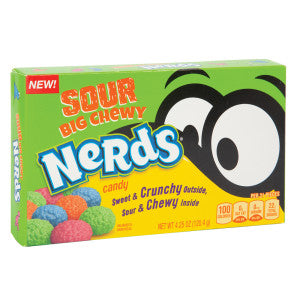 Nerds Sour Big Chewy Nerds 4.25 Oz Theater Box 12Ct Case