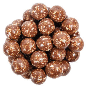 Nassau Candy Milk Chocolate Coconut Malt Balls 10.00Lb Case