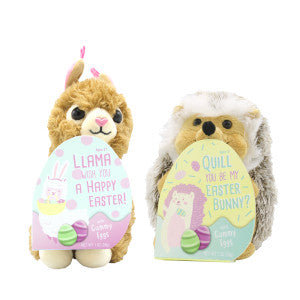 Easter Plush Assorted Gummy 1.06 Oz 6Ct Case