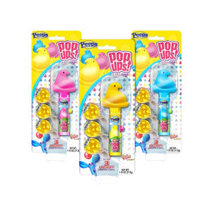 Pop Ups Peeps Blister 1.26 Oz 12Ct Box