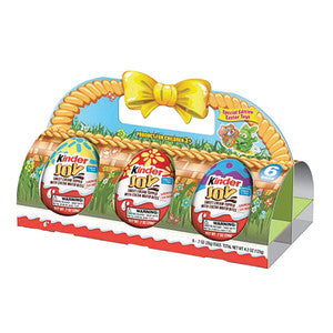 Kinder Joy Easter Basket 6 Pc 4.2 Oz 8Ct Case