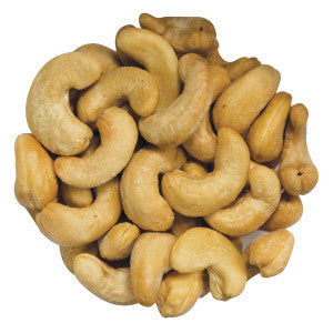 Roasted Salted Cashews 320 Ct 6.25Lb Case