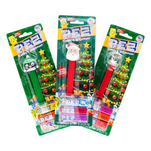 Pez Christmas Assortment 0.87 Oz Blister Pack 12Ct Box