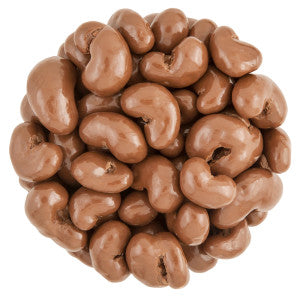 Nassau Candy Milk Chocolate Cashews 10.00Lb Case
