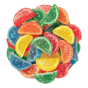 Nassau Candy Assorted Mini Fruit Slices 10.00Lb Case
