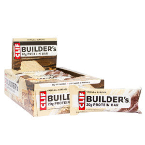 Clif Builder'S Vanilla Almond 2.4 Oz Bar 12Ct Box