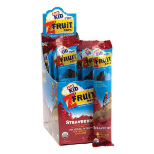 Clif Kid Strawberry Fruit Ropes 0.7 Oz 18Ct Box